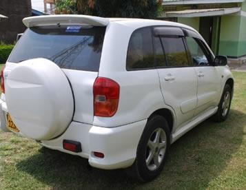 Rwanda Car Rental Discount Rates