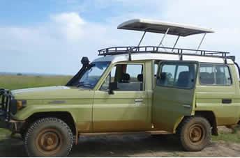 RwandaToyota Land cruiser $110 per day