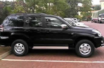 Land cruiser Prado $110 per day