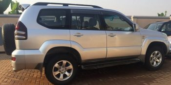 Rwanda land cruiser self drive car hire